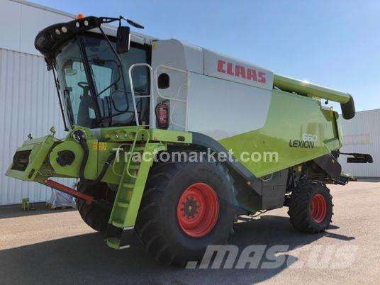CLAAS LEXION 660 - FRANCE